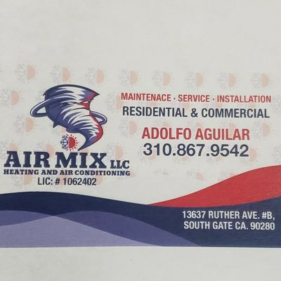 Avatar for Air Mix heating and air conditioning