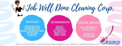 Avatar for Job Well Done Cleaning Corp Hazel Crest, IL Thumbtack