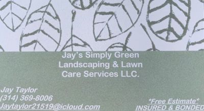 Avatar for Jay's Simply Green Landscaping & Lawn Care Evansville, IN Thumbtack