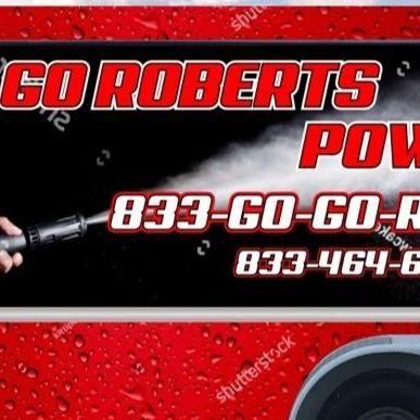 Go Roberts Power wash