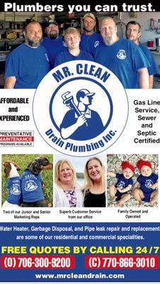 Avatar for Mr. Clean Drain Plumbing inc Cumming, GA Thumbtack