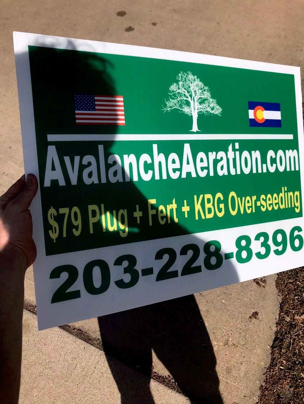 Avalanche Aeration