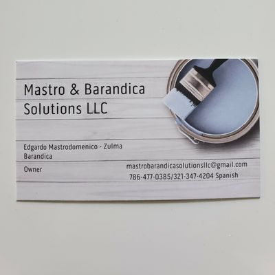 Avatar for Mastro & Barandica Solutions LLC