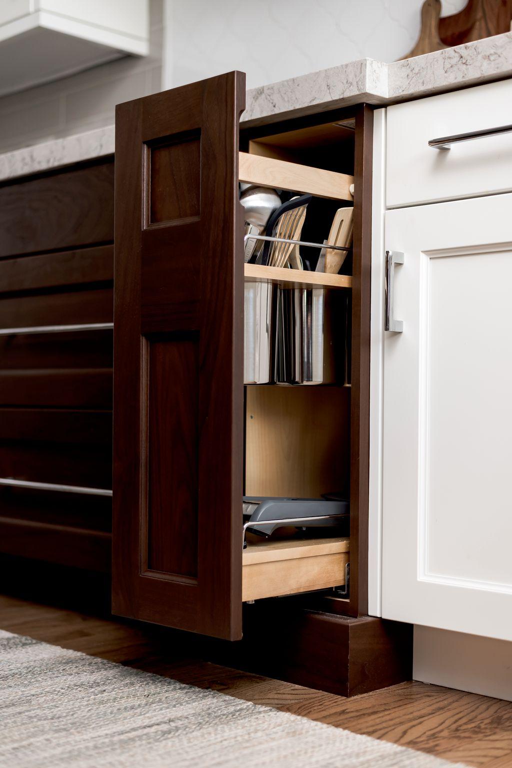 Kitchen remodel for an interior designer