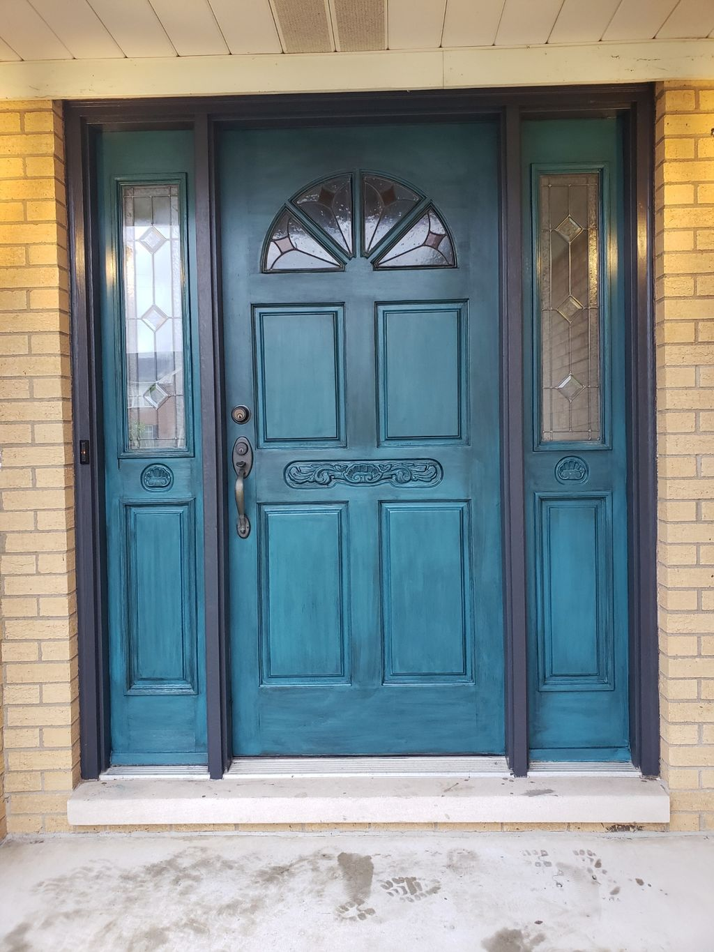 Front door paint and stain