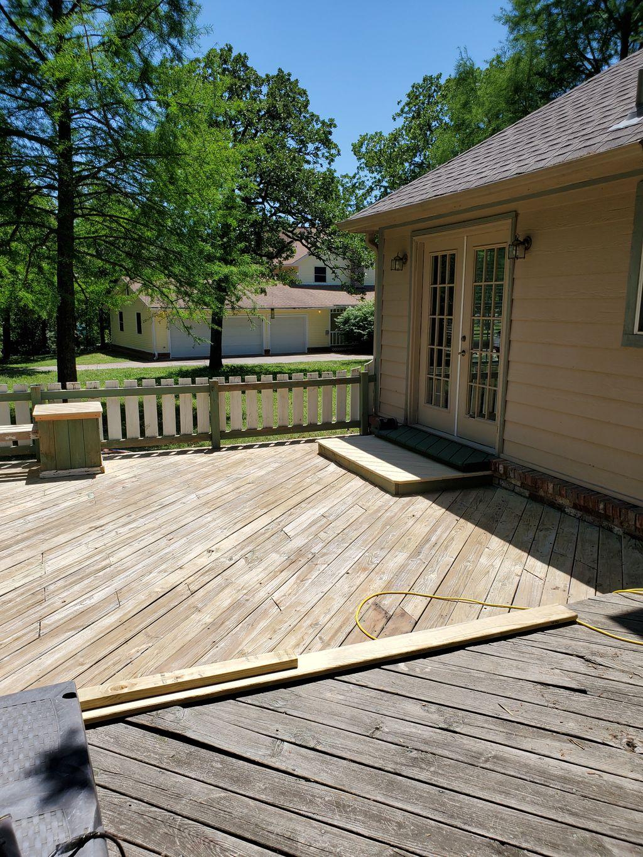 Deck restoration and repair