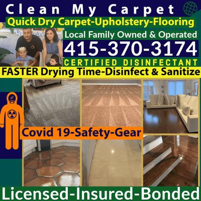 Avatar for Clean My Carpet-Upholstery-Flooring San Francisco, CA Thumbtack