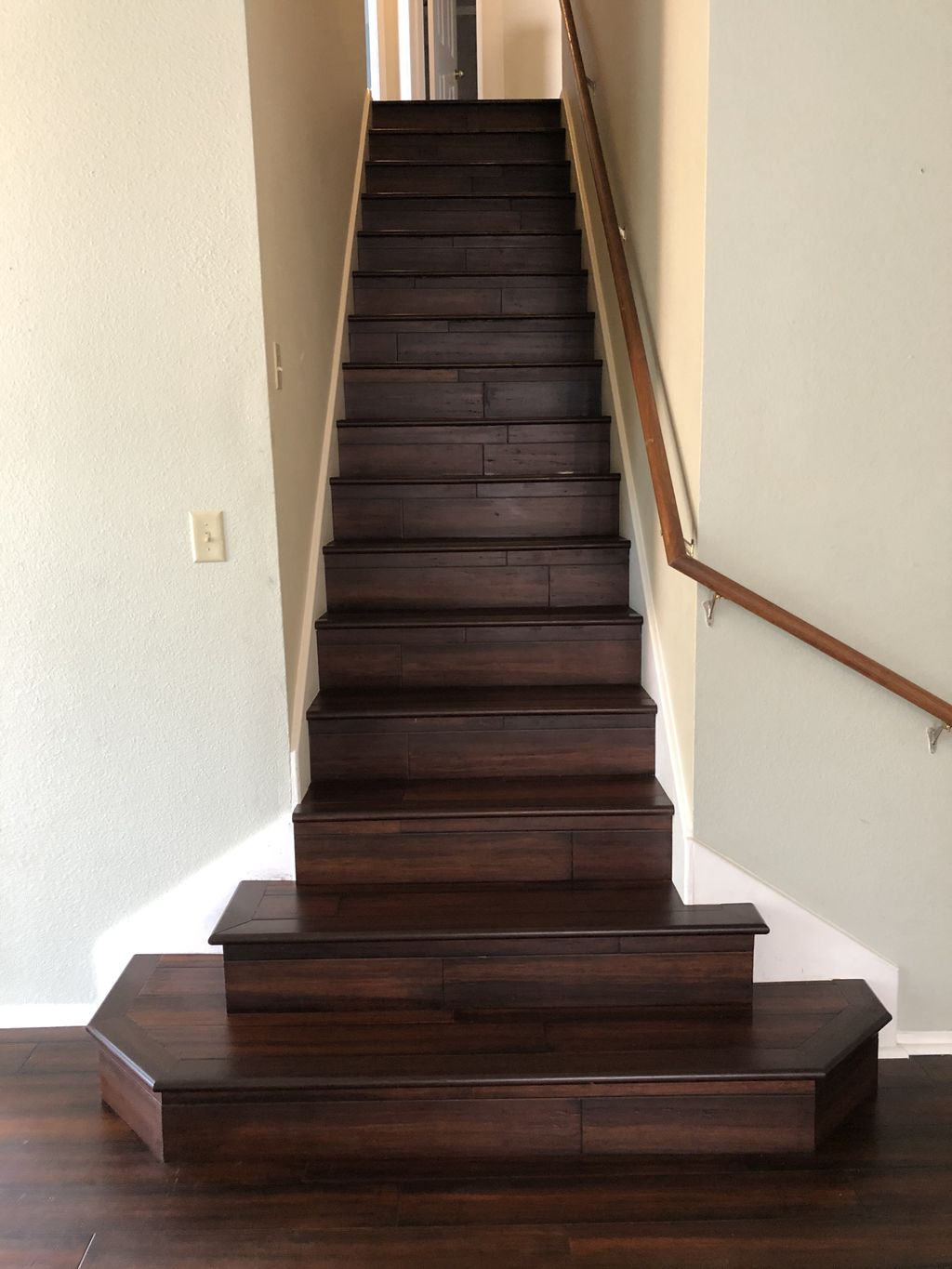 Carpet Removal and Bamboo Installation