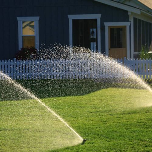 Rotary Sprinklers for Large areas