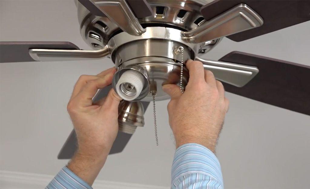 Fan installs in bedroom, porch & gazebo