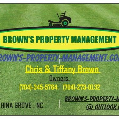 Avatar for BROWN'S PROPERTY MANAGEMENT