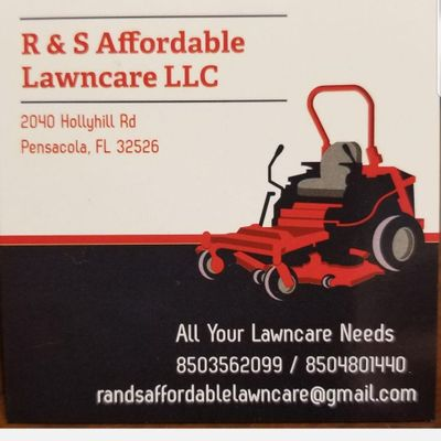 Avatar for R and S Affordable Lawncare llc