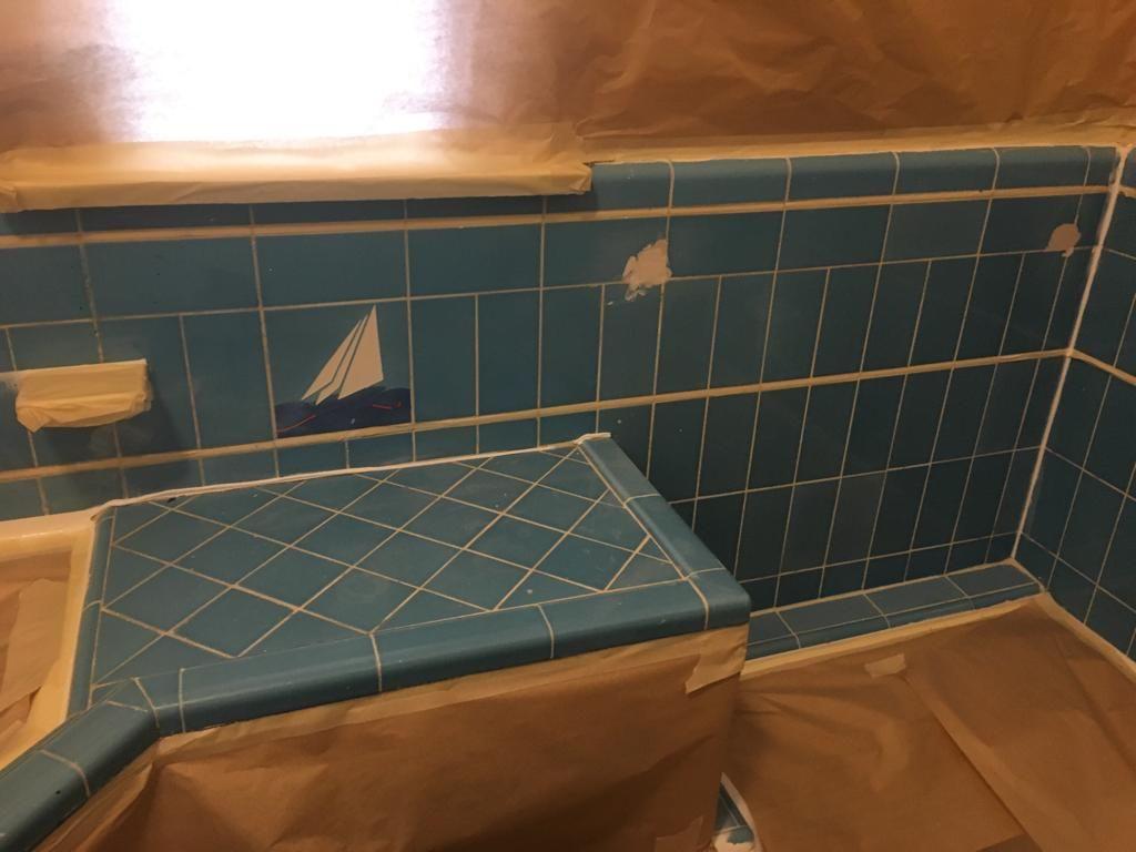 color tile walls