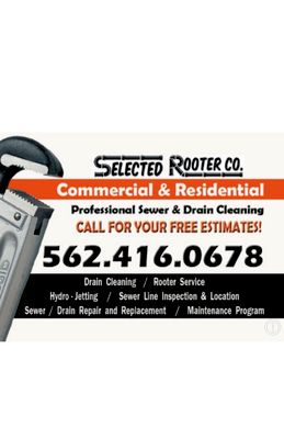 Avatar for SELECTED ROOTER•PLUMBING