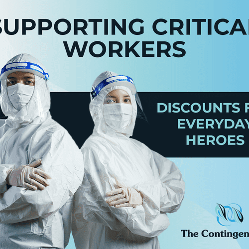 Ask about discount for jobseekers in healthcare, education, and first responders.