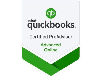 Advanced QBO Certified ProAdvisor