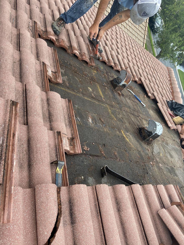 Two Gooseneck Repair And Repair above garage