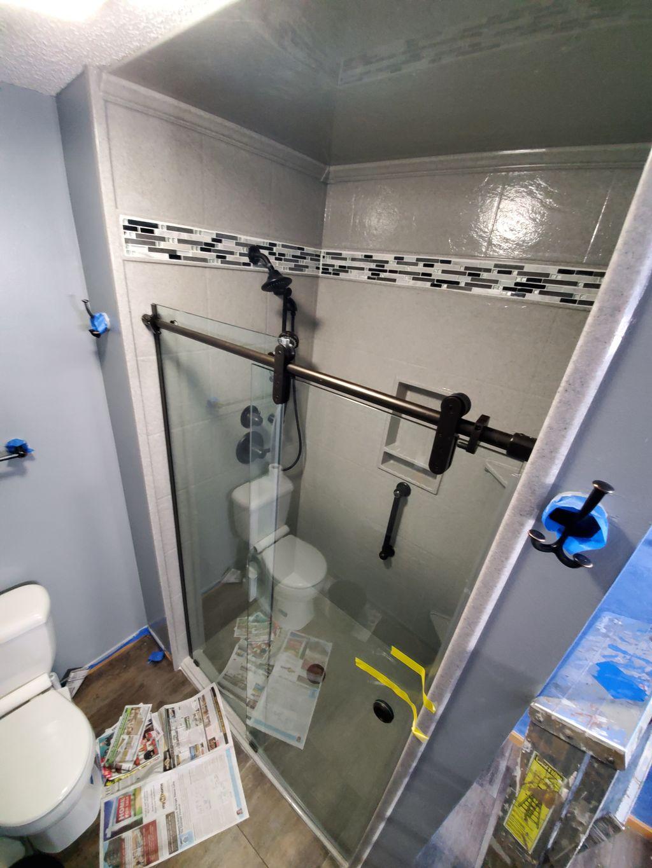 Stillwater town house bathroom