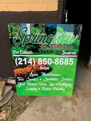 Avatar for Springview landscape Garland, TX Thumbtack