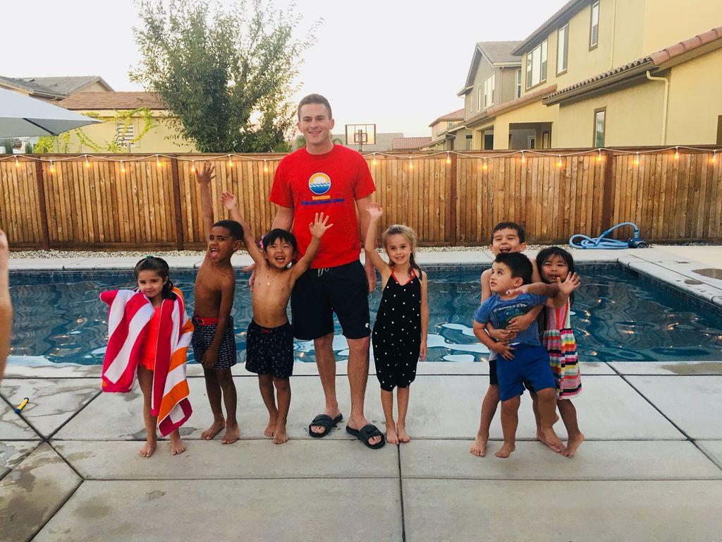 Chris' Private Swim Training