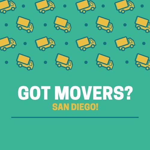 Got Movers San Diego?