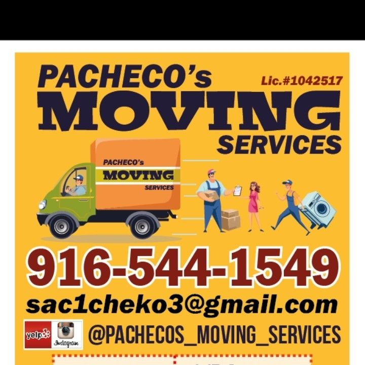 Pacheco's moving services