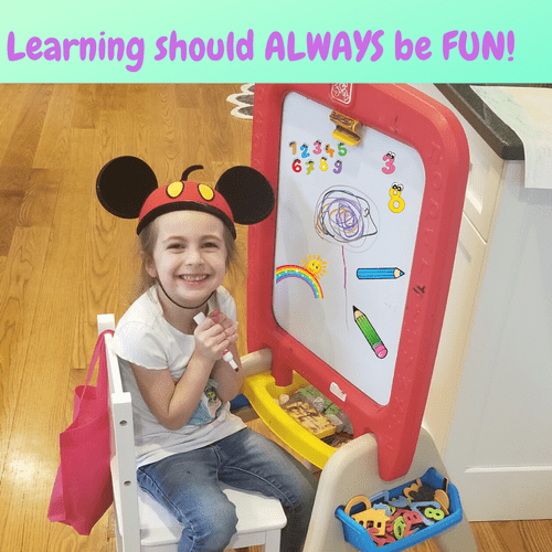 Learning should be fun!