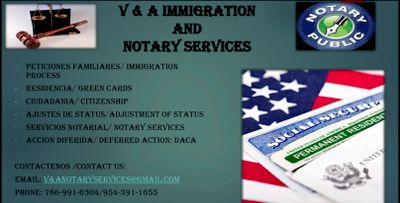 Avatar for V&A Immigration and Mobile Notary Services