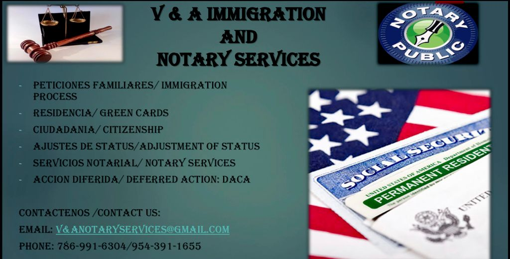 V&A Mobile Notary Services and Signing Services