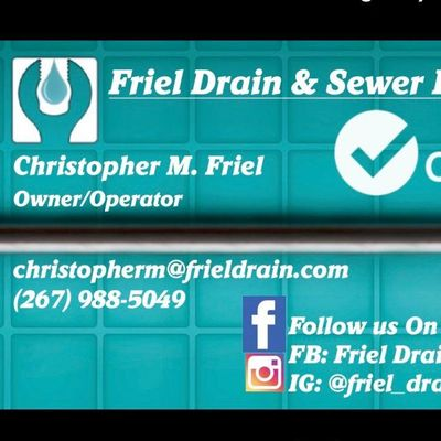 Avatar for Friel Drain & Sewer LLC Chalfont, PA Thumbtack