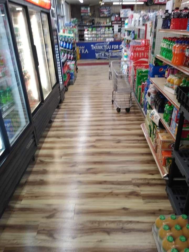 Liquor store floor