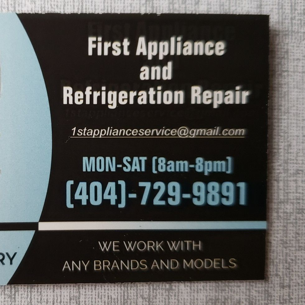 First appliance and Refrigeration repair