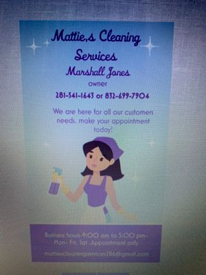 Avatar for Mattie's cleaning Services Spring, TX Thumbtack