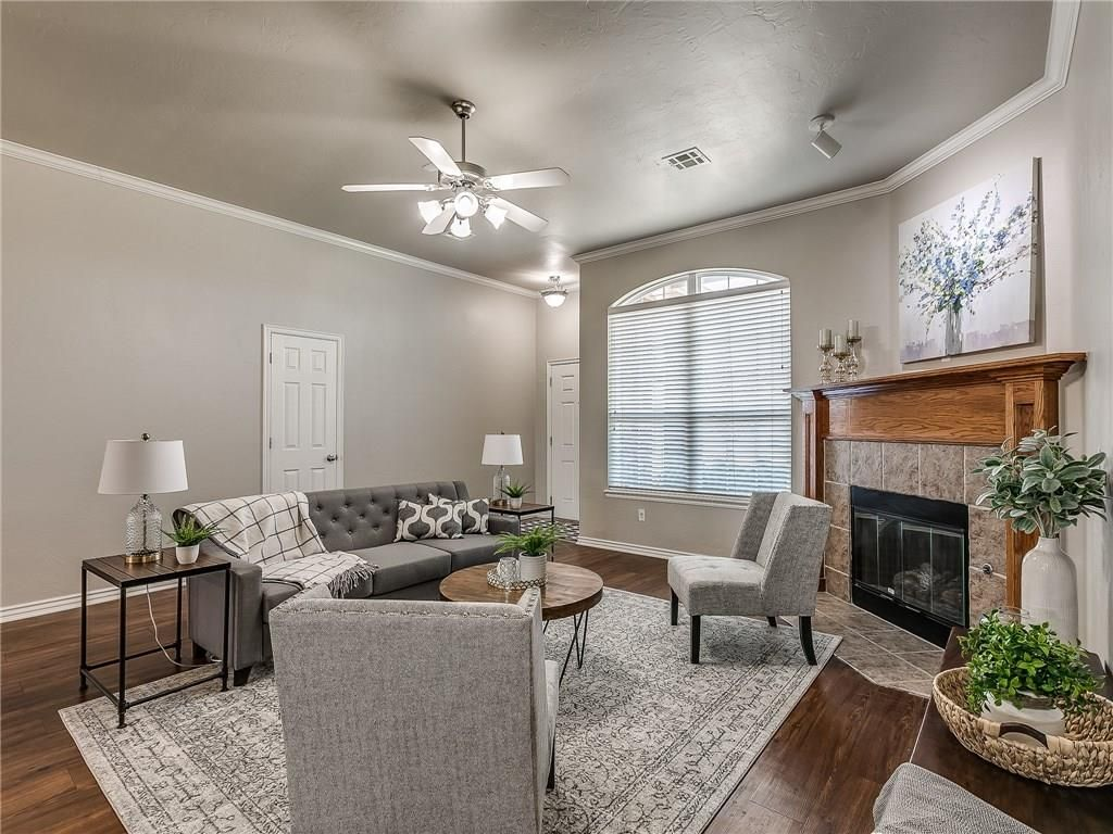 Staged Home in OKC