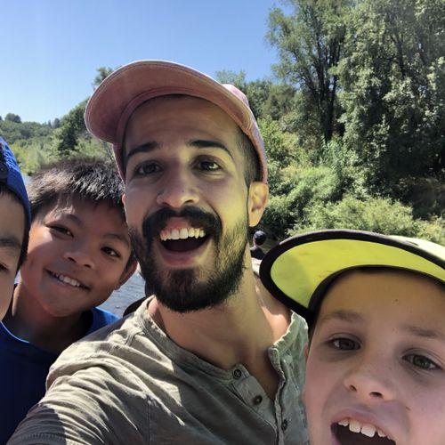 Camp Kayak Adventure with students from San Francisco Boys Chorus