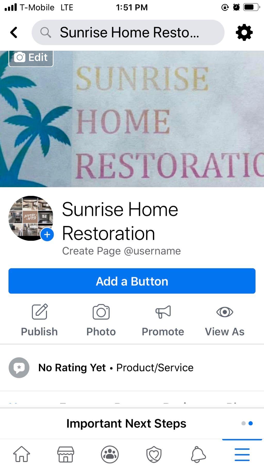Sunrise Home Restoration