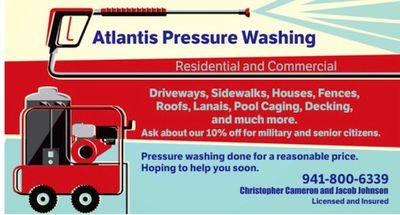 Avatar for Atlantis pressure washing