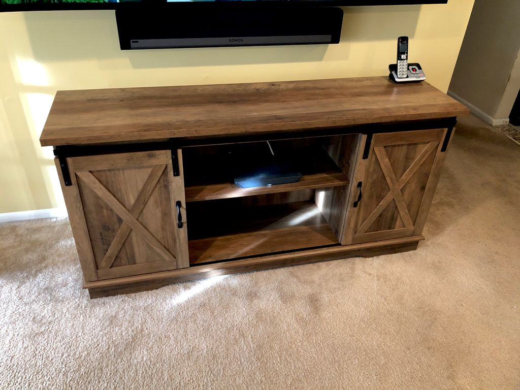 TV stand assembly