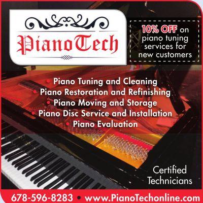 Avatar for PianoTech ,Moving/Tuning/Storage/Restorations Atlanta, GA Thumbtack