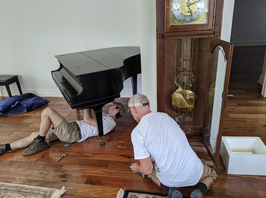 Baby Grand piano delivery and set up