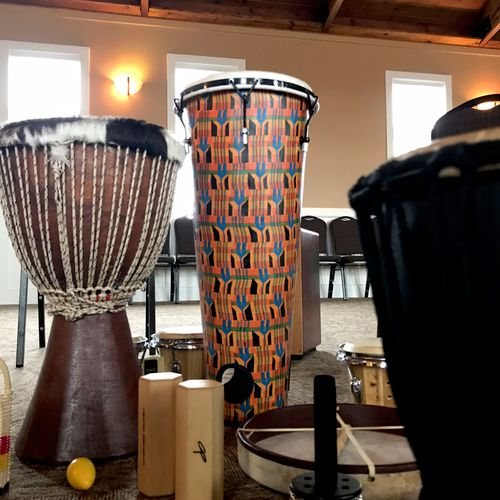 Monthly Drum Circle / Clinics for Lewis Music Studio in Bridgeville. PA.
