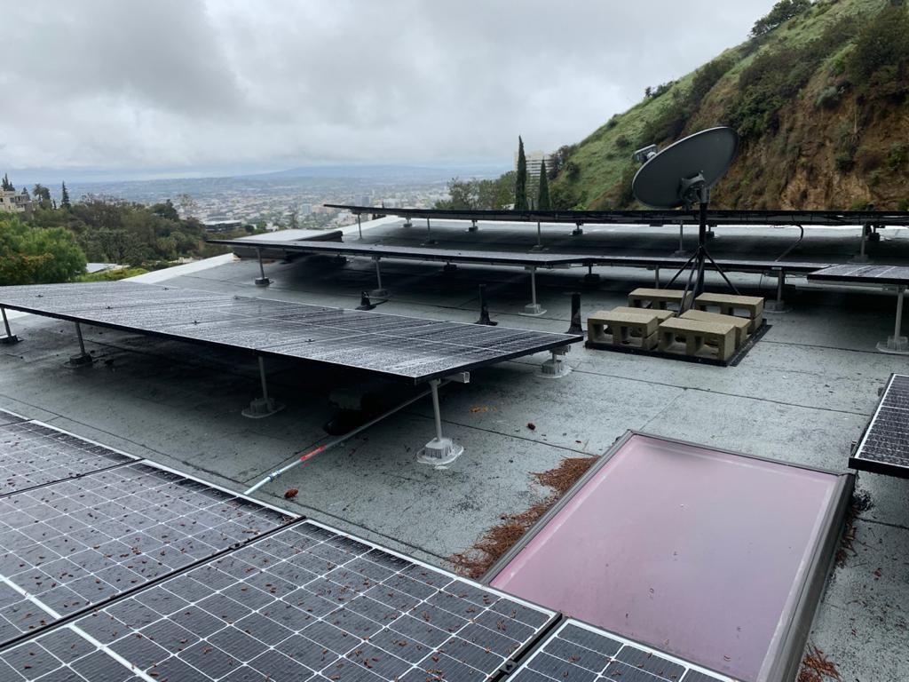 Solar Installation for Alex in Hollywood Hills