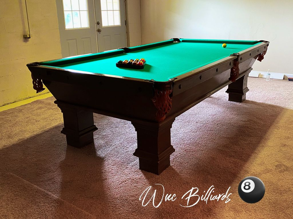 Pool Table Repair Services - Boone 2020
