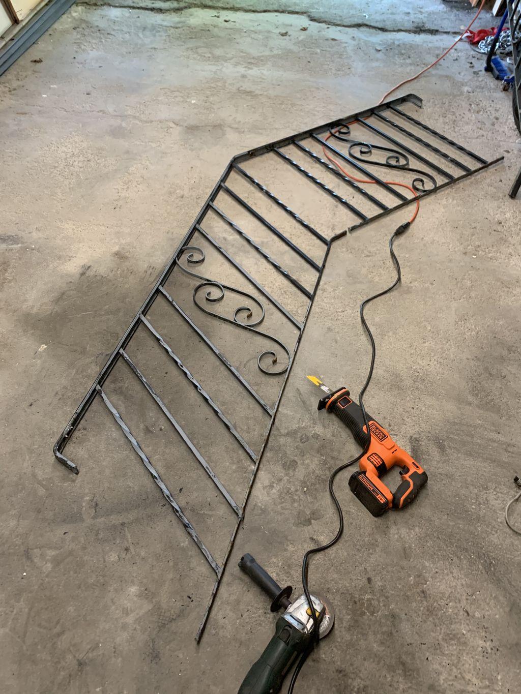 Railing Post Repair