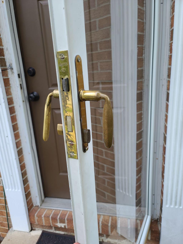 Storm Door Lock Replacement