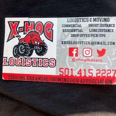 Avatar for Xhog logistics and moving Little Rock, AR Thumbtack