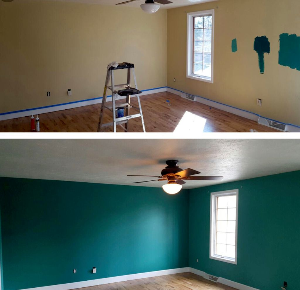 painting 3 bedrooms