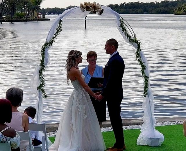 Featured wedding at Grace River Island Resort