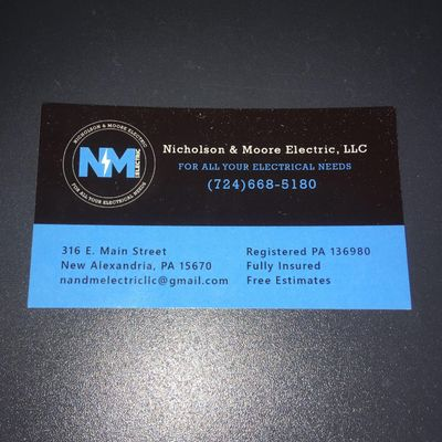 Avatar for Nicholson & Moore Electric, LLC