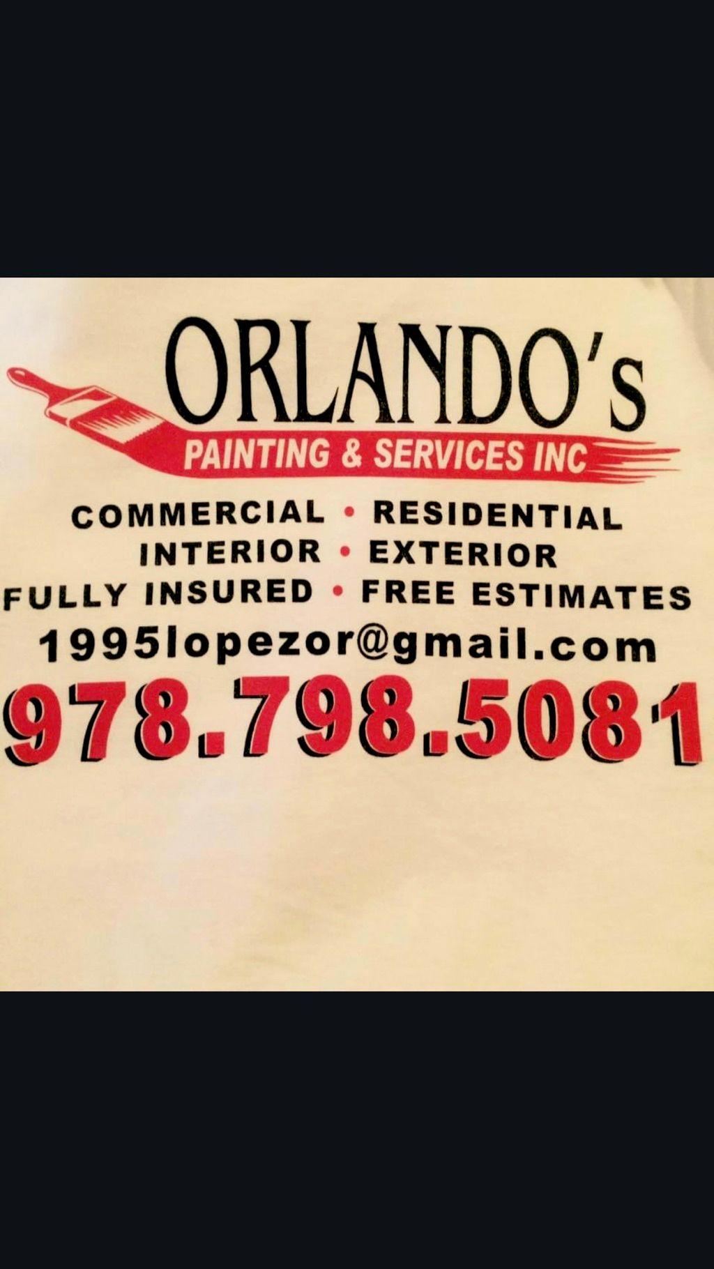Orlando's painting & svc inc